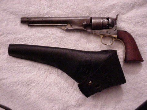 Colt and holster